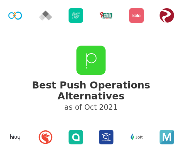 Best Push Operations Alternatives