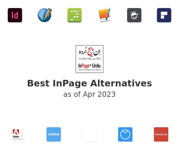 Best InPage Alternatives