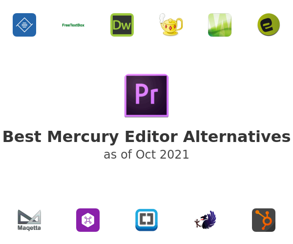 Best Mercury Editor Alternatives