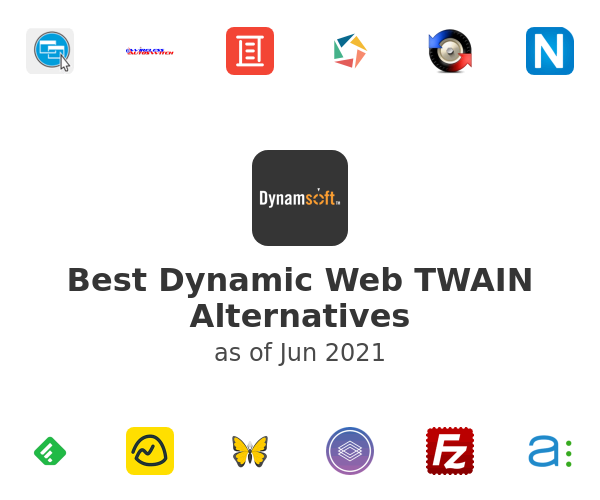 Best Dynamic Web TWAIN Alternatives