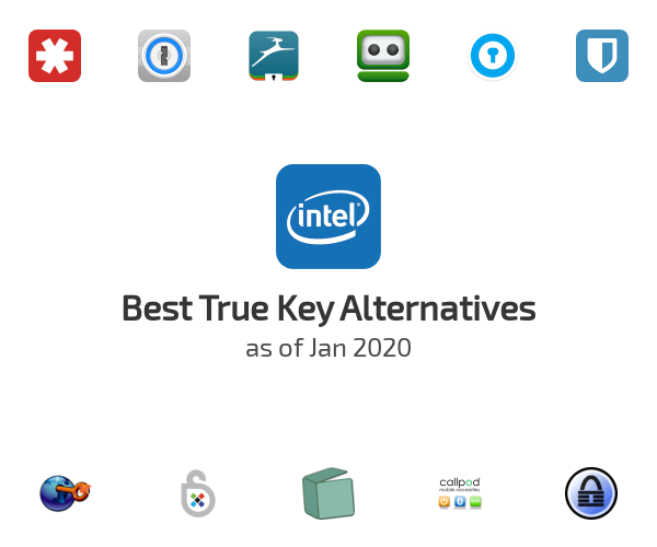 Best True Key Alternatives