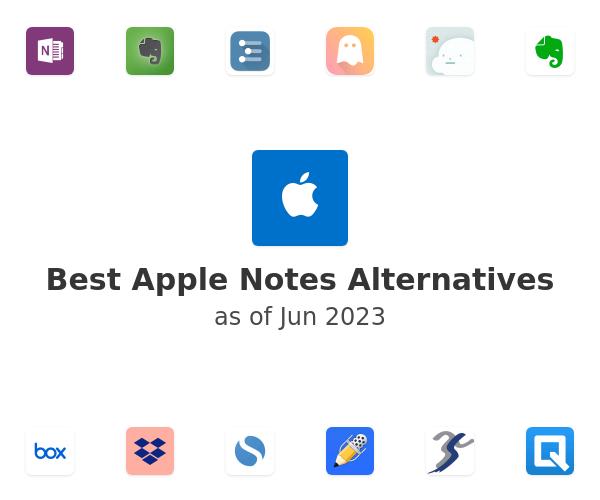 Best Apple Notes Alternatives