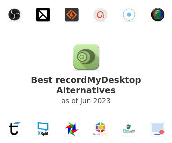 Best recordMyDesktop Alternatives