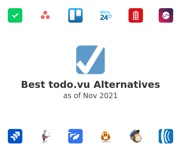 Best todo.vu Alternatives