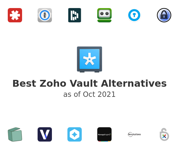 Best Zoho Vault Alternatives