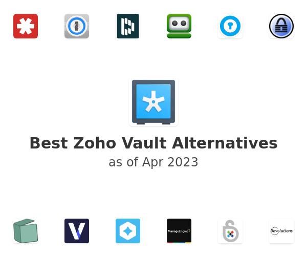 Best Zoho Vault Alternatives