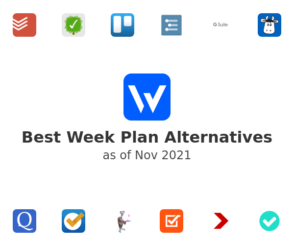 Best Week Plan Alternatives