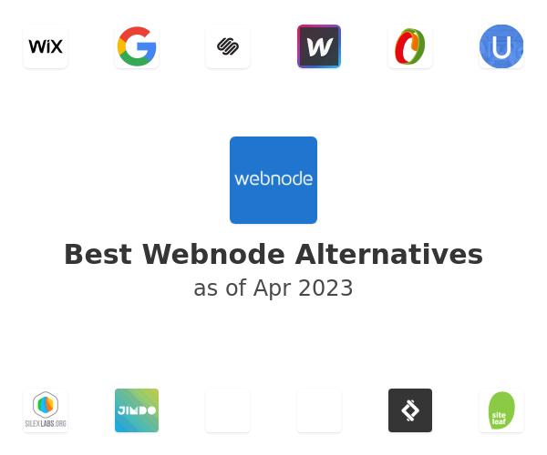 Best Webnode Alternatives