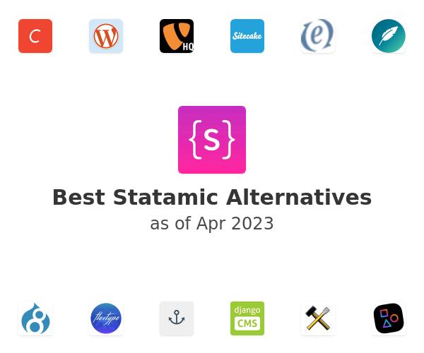 Best Statamic Alternatives