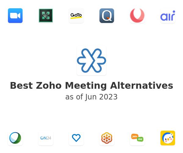 Best Zoho Meeting Alternatives