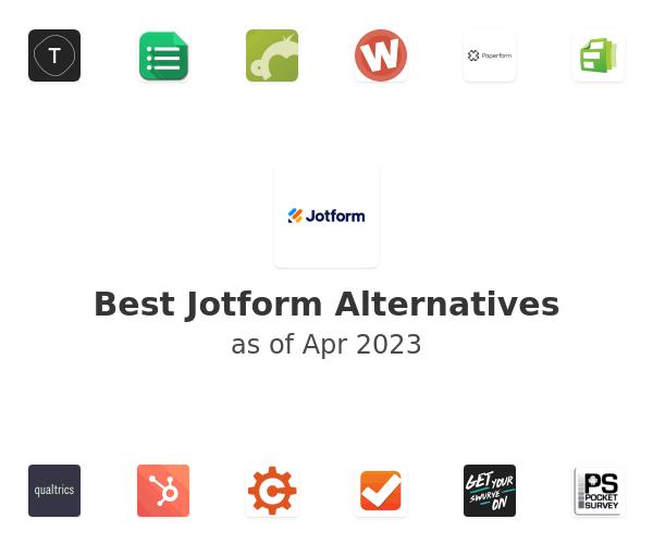 Best JotForm Alternatives