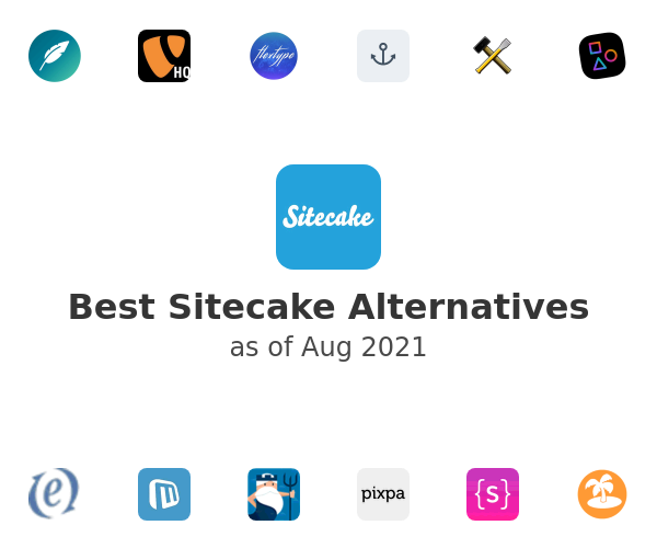 Best Sitecake Alternatives