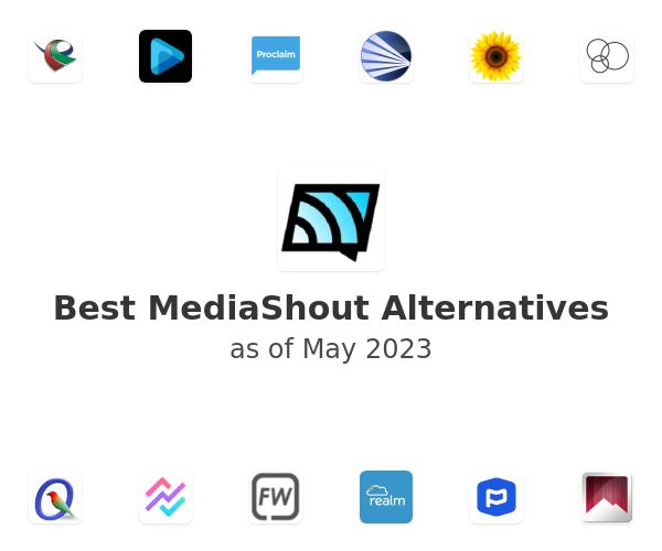 Best MediaShout Alternatives