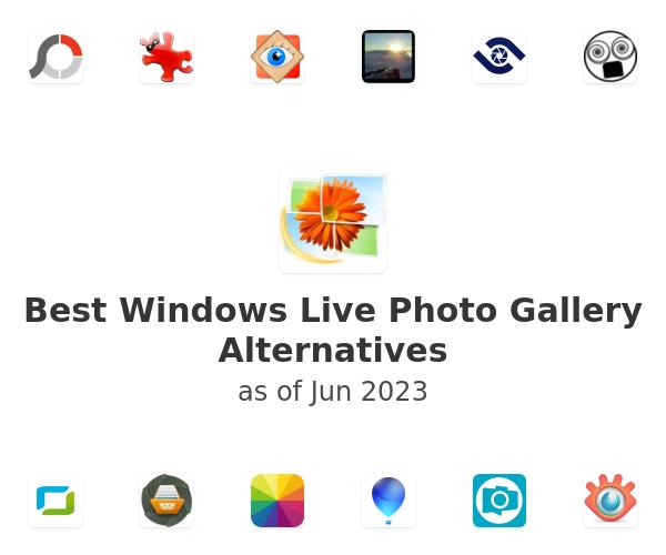 Best Windows Live Photo Gallery Alternatives