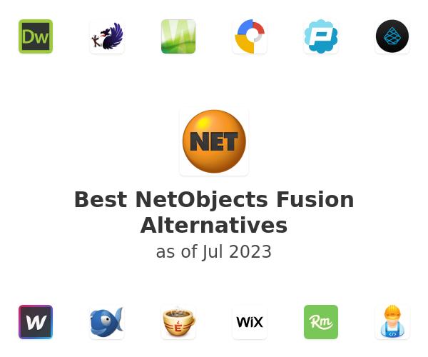 Best NetObjects Fusion Alternatives