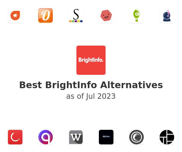 Best BrightInfo Alternatives