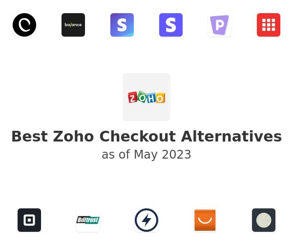 Best Zoho Checkout Alternatives