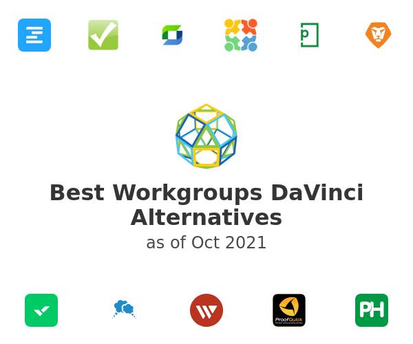 Best Workgroups DaVinci Alternatives