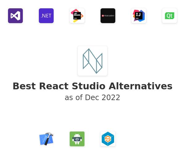 Best React Studio Alternatives