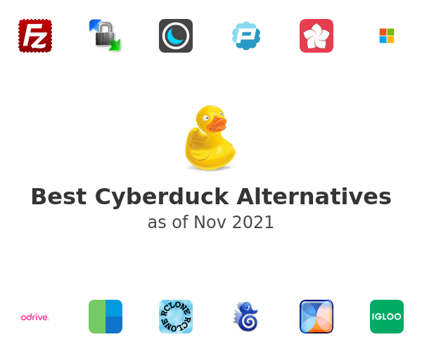 Best Cyberduck Alternatives
