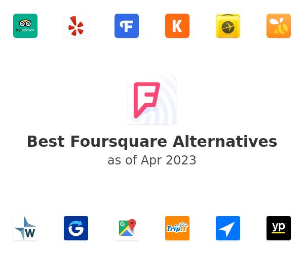 Best Foursquare Alternatives