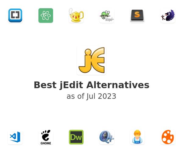 Best jEdit Alternatives