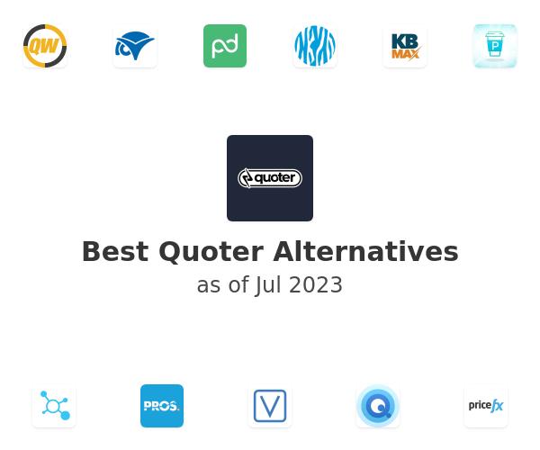Best Quoter Alternatives