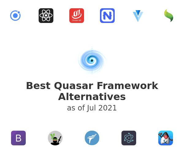 Best Quasar Framework Alternatives