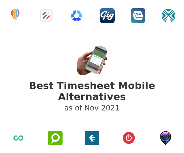 Best Timesheet Mobile Alternatives