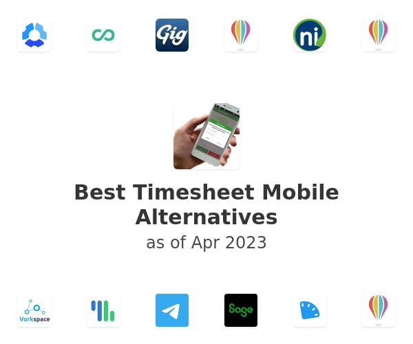 Best Timesheet Mobile Alternatives