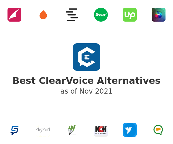 Best ClearVoice Alternatives