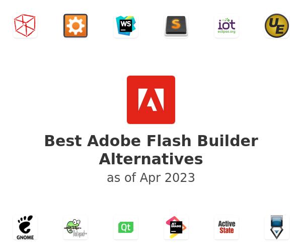 Best Adobe Flash Builder Alternatives