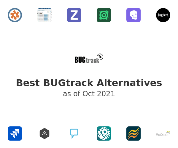 Best BUGtrack Alternatives