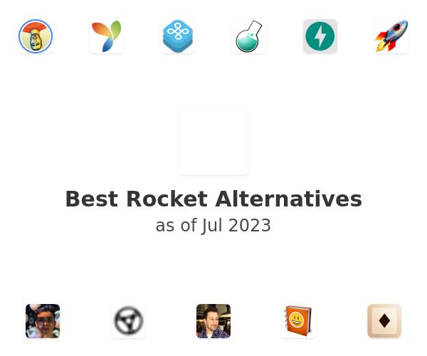 Best Rocket Alternatives