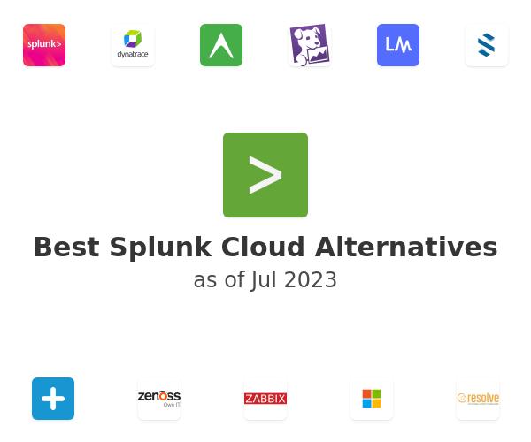 Best Splunk Cloud Alternatives