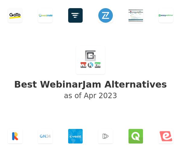 Best WebinarJam Alternatives