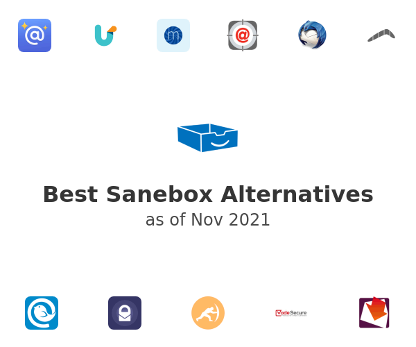 Best Sanebox Alternatives