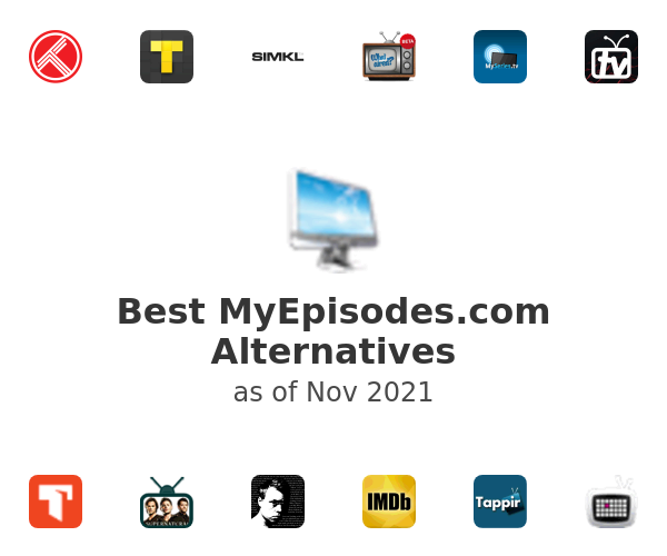 Best MyEpisodes.com Alternatives
