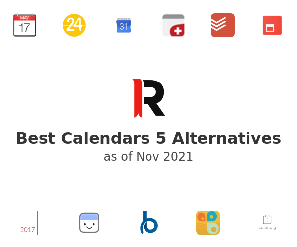 Best Calendars 5 Alternatives