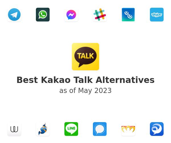 Best Kakao Talk Alternatives