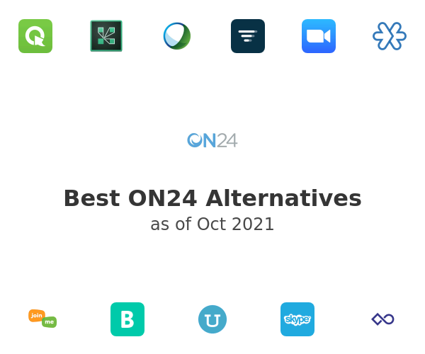 Best ON24 Alternatives