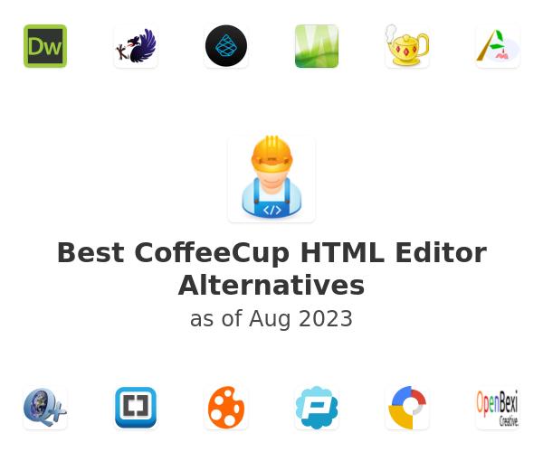 Best CoffeeCup HTML Editor Alternatives