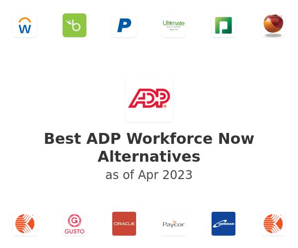 Best ADP Workforce Now Alternatives