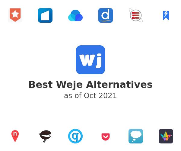 Best Weje Alternatives