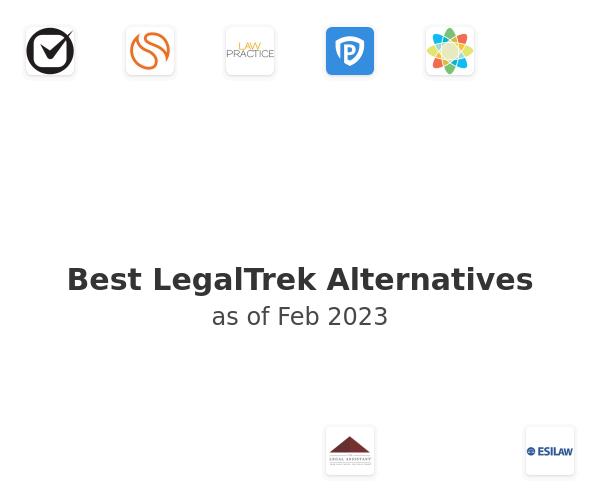 Best LegalTrek Alternatives