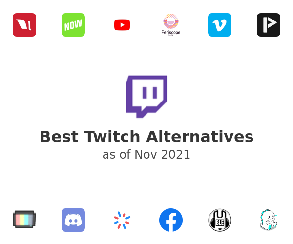 Best Twitch Alternatives