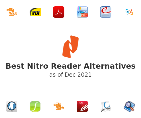 Best Nitro Reader Alternatives