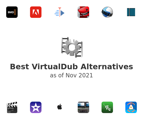 Best VirtualDub Alternatives