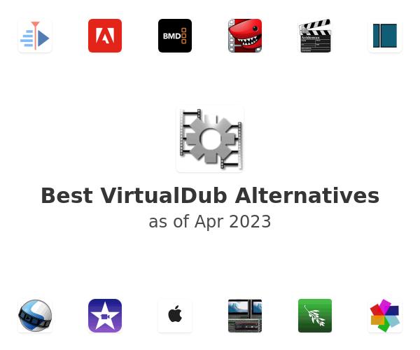 Best VirtualDub Alternatives