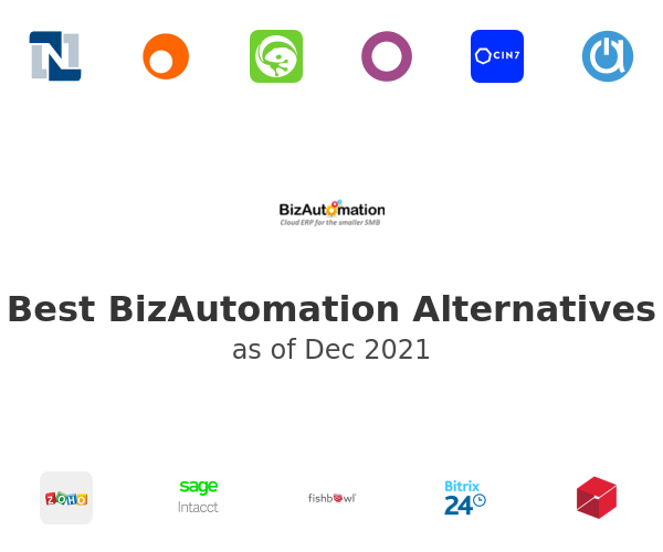 Best BizAutomation Alternatives